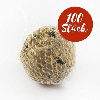 Meisenknödel mit Netz, 100 Stück